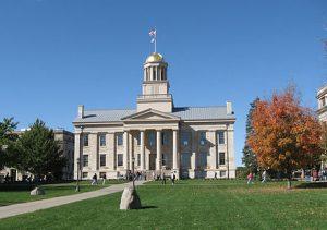 Old Capitol Building Iowa City Iowa