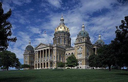 Iowa State Capitol Building Des Moines