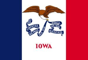 State Flag of Iowa